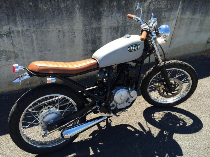 cafe racer yamaha scorpio 225 | custom yamaha scorpio's
