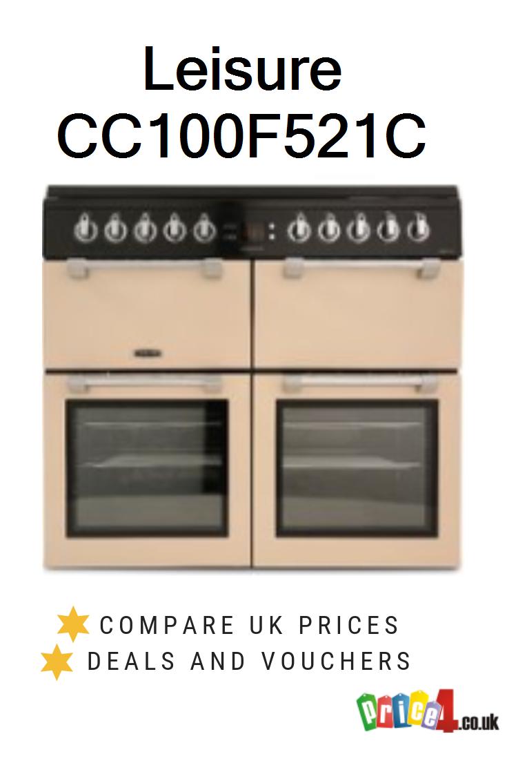 Leisure Cc100f521c Uk Prices Dual Fuel Range Cookers Range Cooker Cooking Range