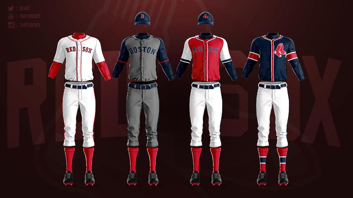 Mlb Jerseys Redesigned On Behance In 2020 Jersey Mlb Uniforms Mlb