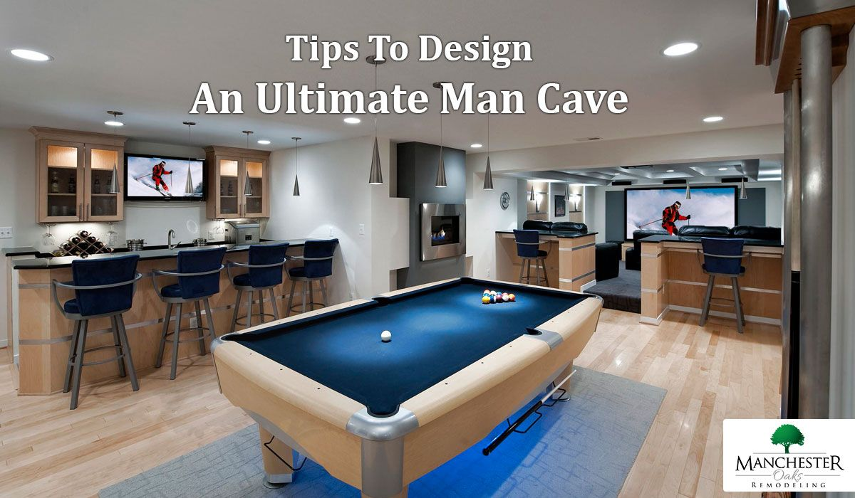 Want to convert your basement into a man cave implement these steps