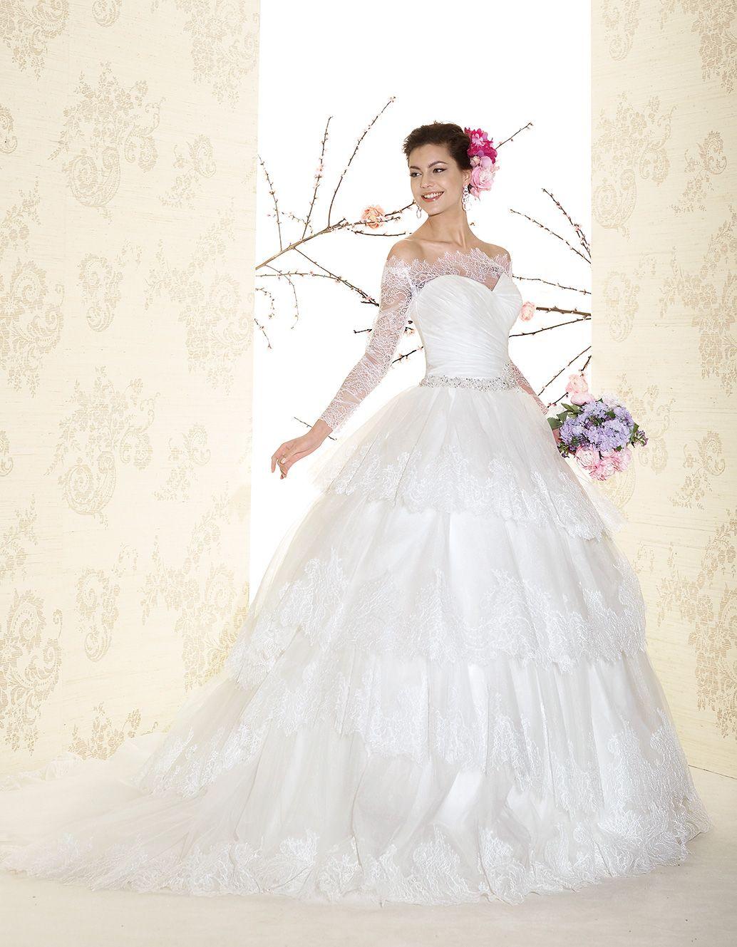 Perle 2015 > P7541 | Delsa Abiti da Sposa | Creazioni dal 1969