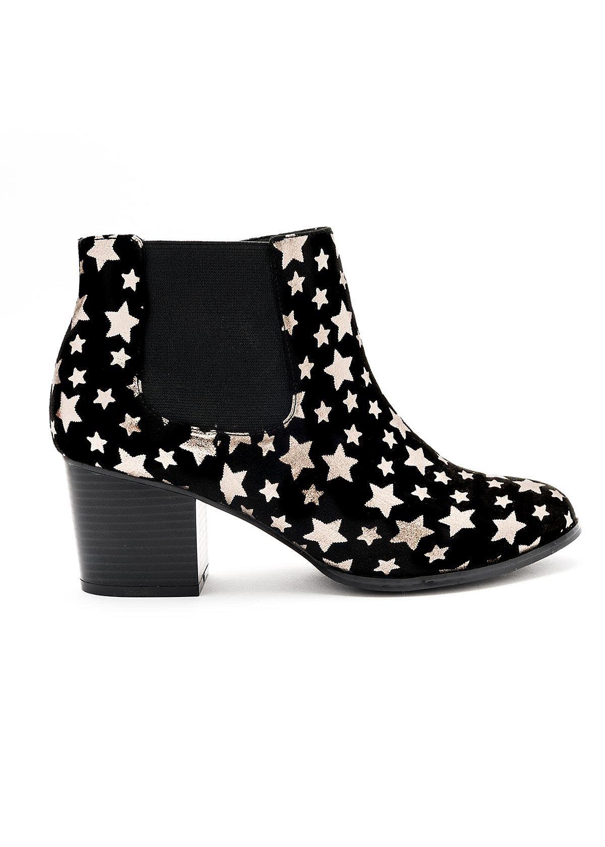 SUPERNOVA BOOT / Black/metallic / A70166 Boots, Black