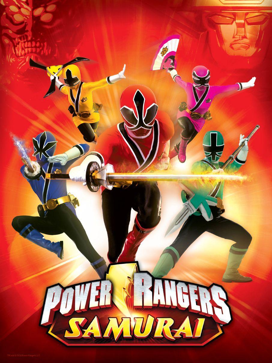 Power Rangers Twitter Giveaway Power rangers samurai