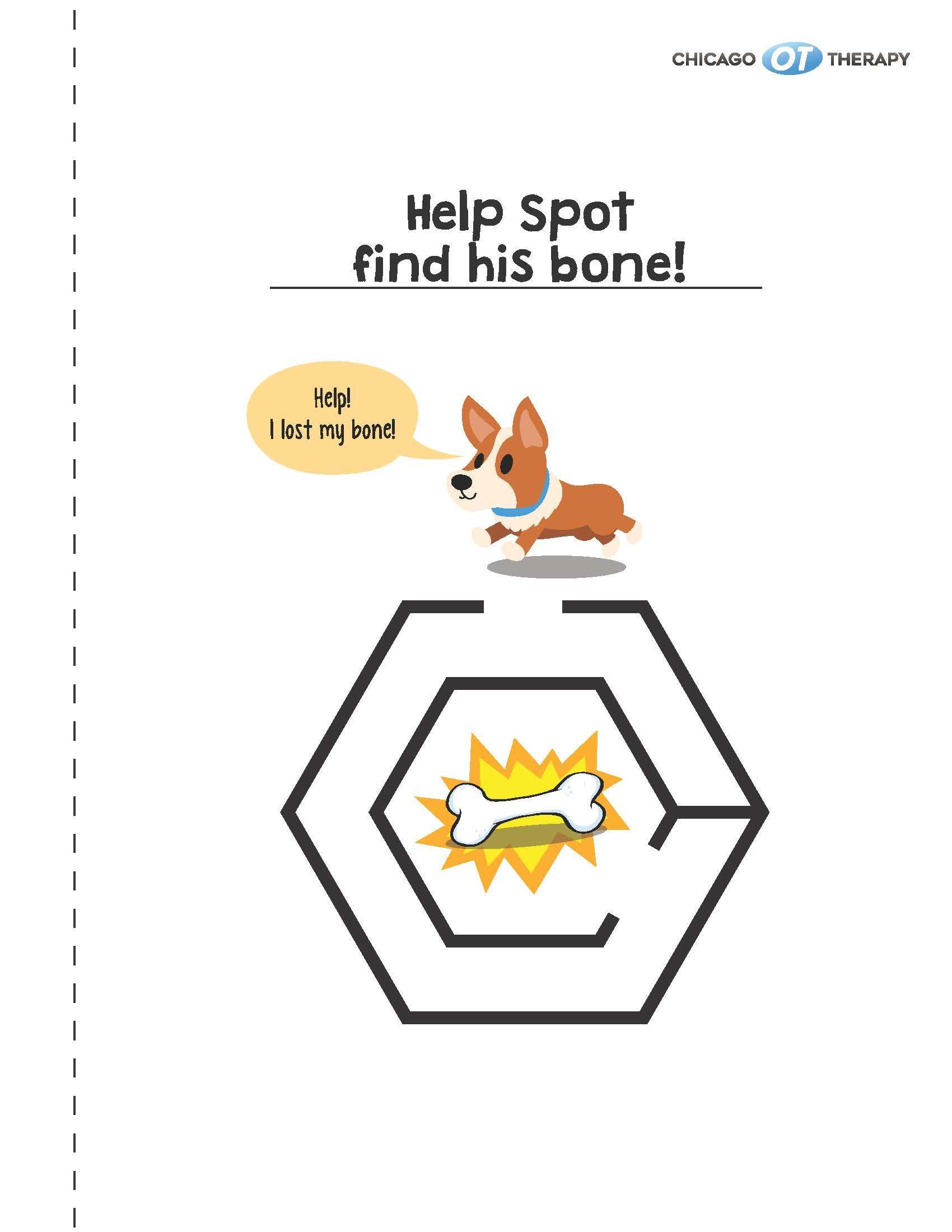 Maze Book Activity Worksheets