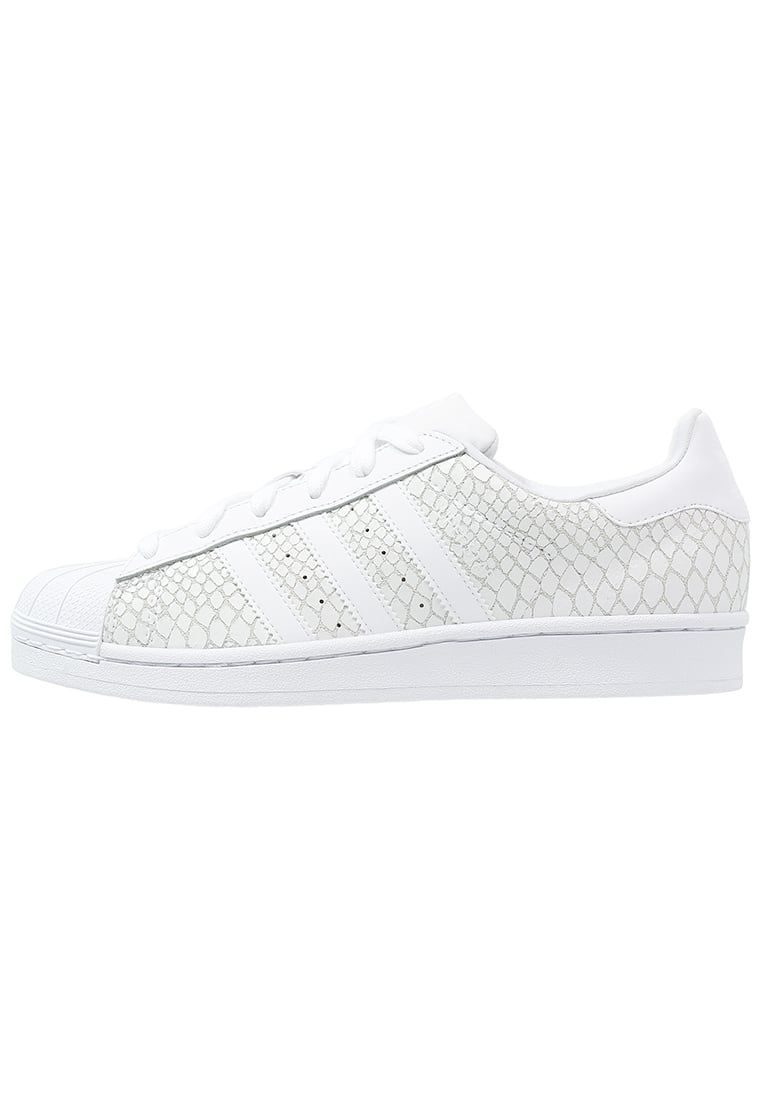 adidas superstar dames wit slangenprint