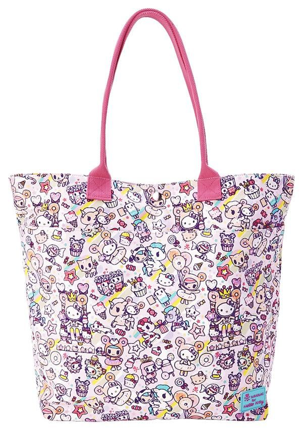 6d6f8c870 Hello Kitty × Tokidoki Sweets Canvas Tote Bag | Products | Bags ...