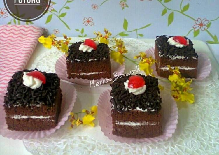 Pin Di Cake Potong
