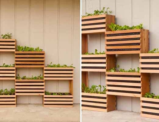 Huerto de pared cultiva tus verduras mi casa verde - Bricorama muebles ...