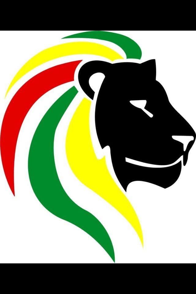 Lion of Judah Decal Sticker Rasta Rastafari Flag Car Vinyl Jamaica Ethiopia b