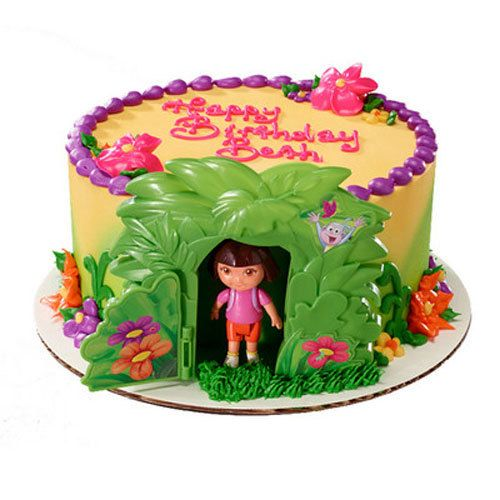 Dora the Explorer Jungle Cake Decorating Kit by ...