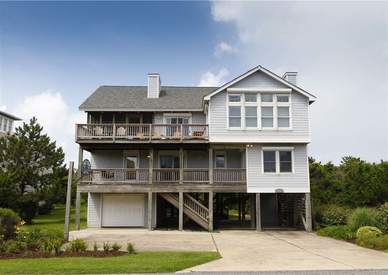 Twiddy Outer Banks Vacation Home - Shore Enough - Duck - Semi-Oceanfront - 5 Bedrooms