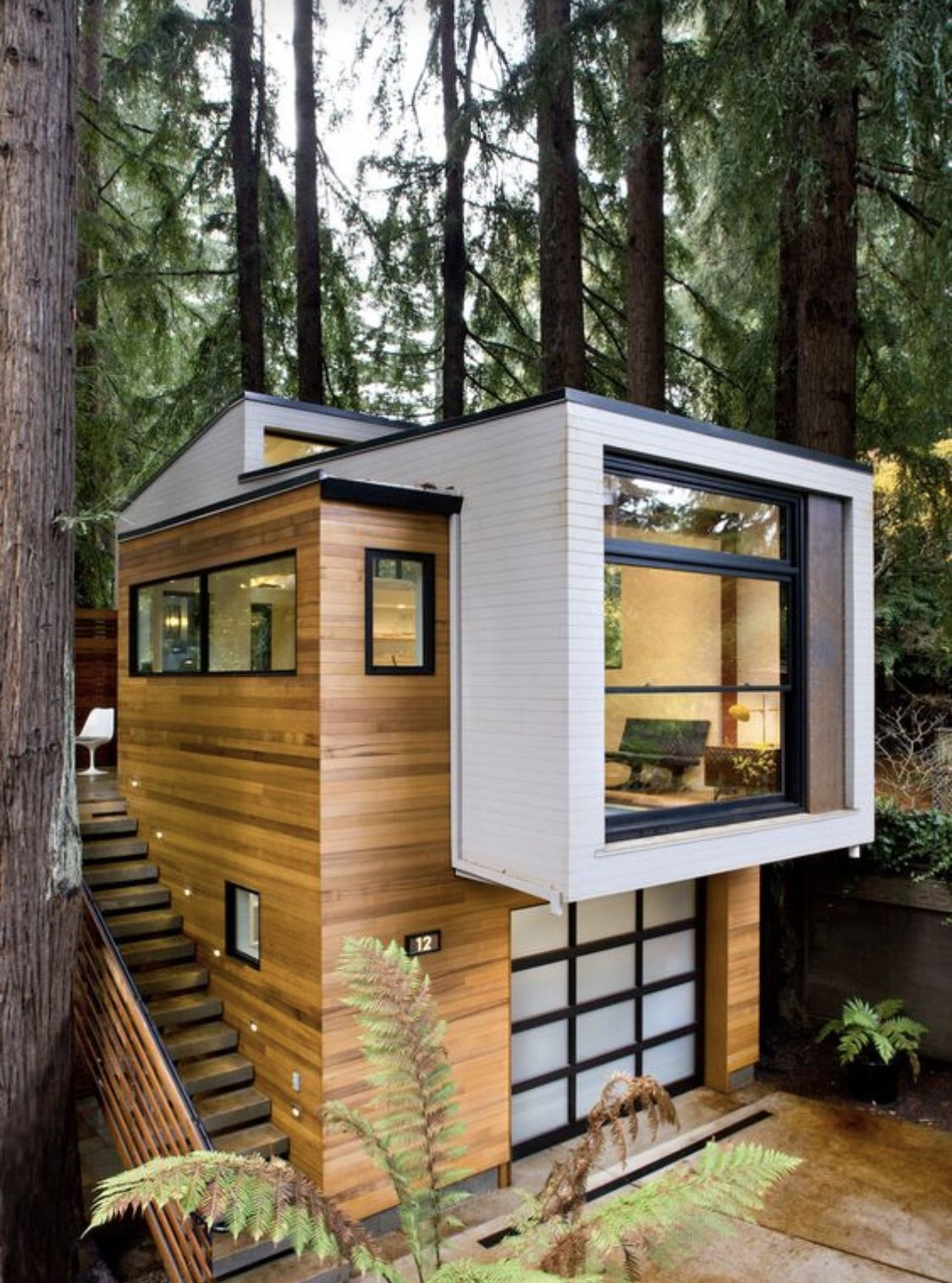 Mesmerizing Window Design For Small House To Be Inspired By: The Elevated Picture Window With Garage Under. In 2020