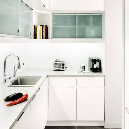 L Shaped Kitchen Design For Small Space: Tiny Kitchen Design Ideas For Small
