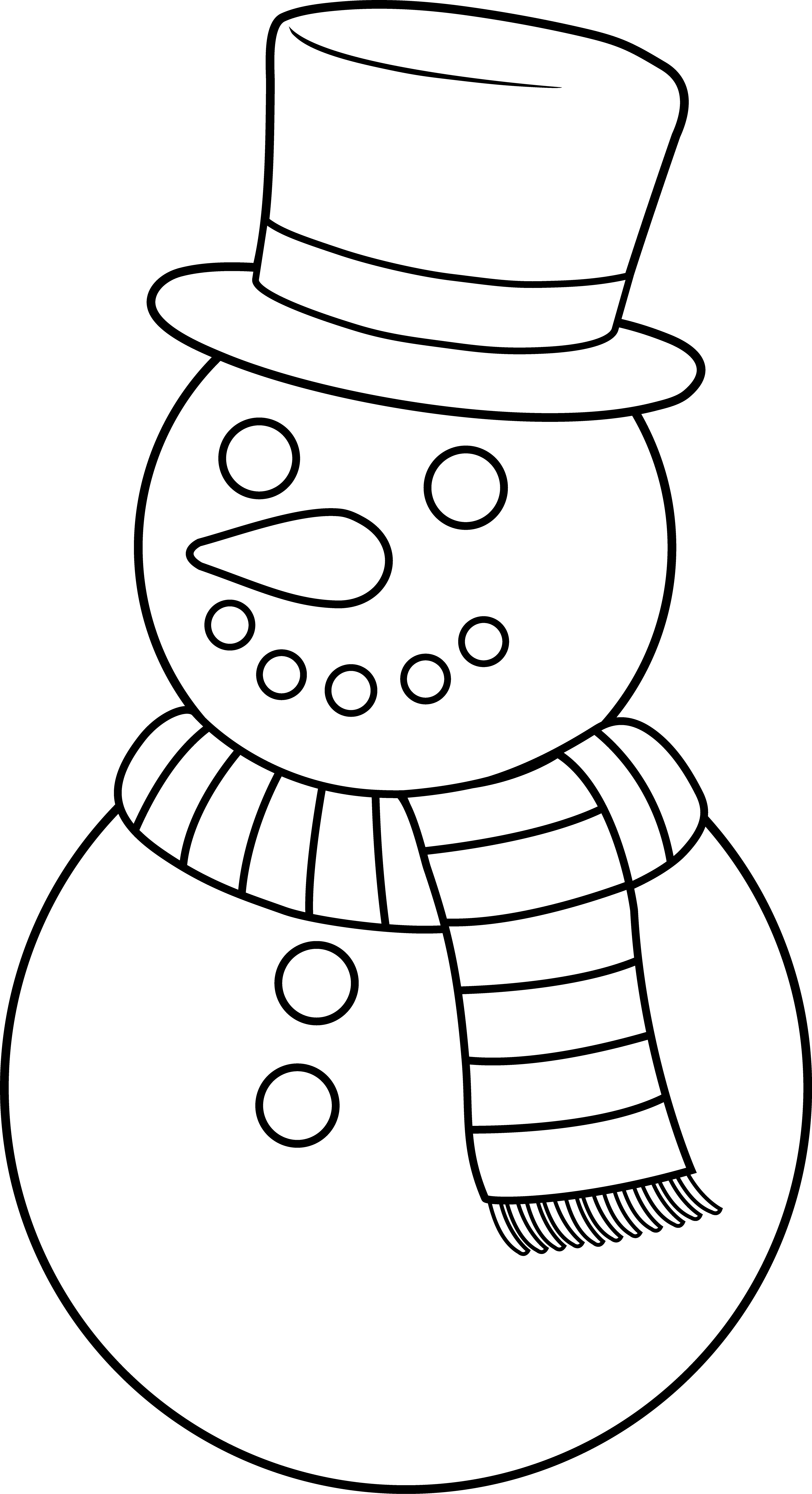 29+ Snowman clipart free black and white ideas in 2021