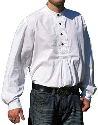Wiesn Oktoberfest Trachtenhemd Pfoad Isar Weiss Gr S Trachtenhemd Pfoad Isar Weiss Gr S Mens Tops Shirts Fashion