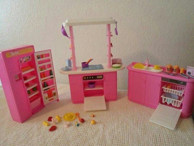 Barbie Kitchen 80s Throw Back Toys Barbie Barbie Kitchen