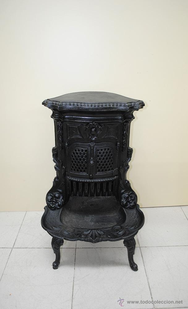 Estufa antigua antig edades t cnicas r sticas for Estufa lena calefaccion radiadores