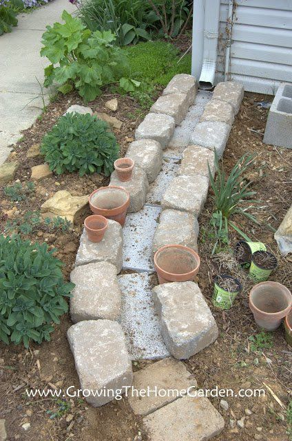 Ideas para tu jardin con bloques de cemento bloques de for Bloques de cemento para jardin