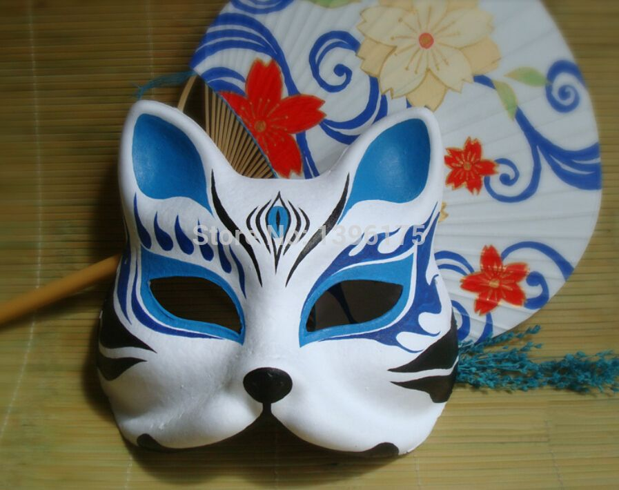 traditional japanese kitsune mask google search crafts. Black Bedroom Furniture Sets. Home Design Ideas