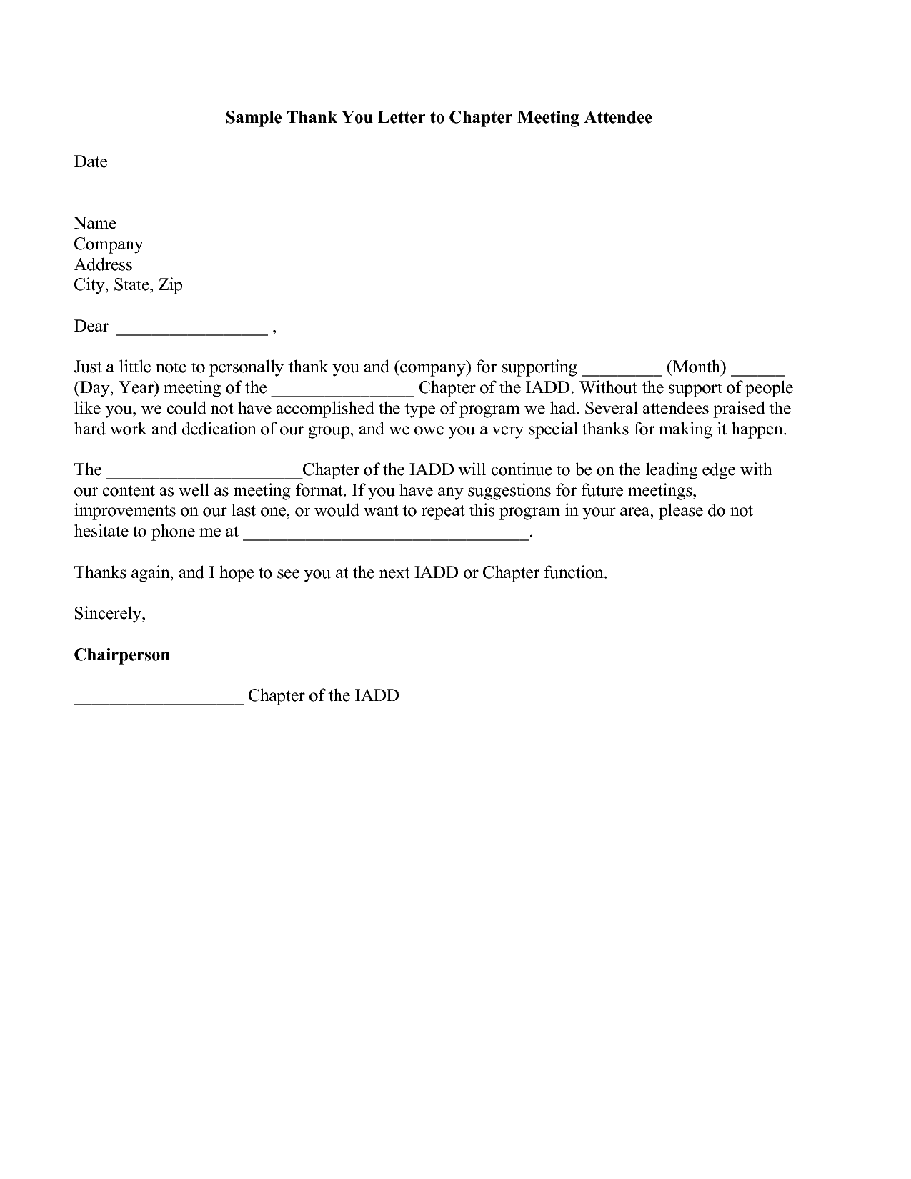 Business Meeting Thank You Letter Scholarship Application Essay