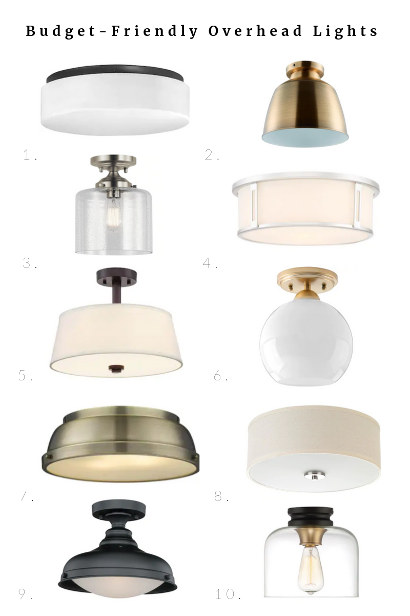 Budget Friendly Lighting For The