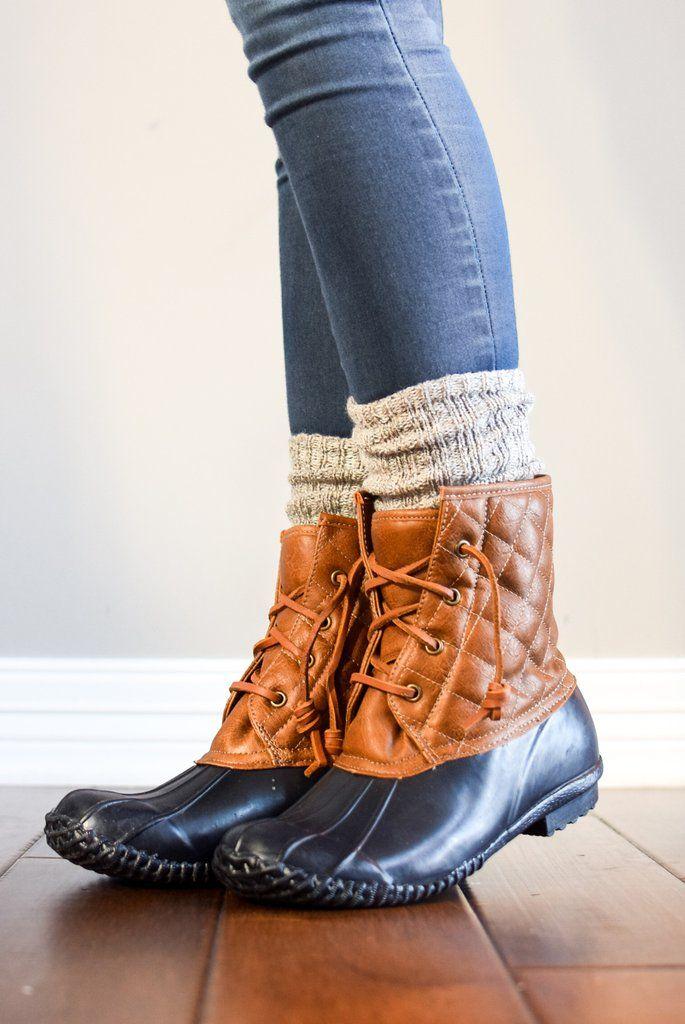 3c7c2eed3883e Harvest Beige Peppered Boot Sock   Misc   Boot socks, Sock boots ...