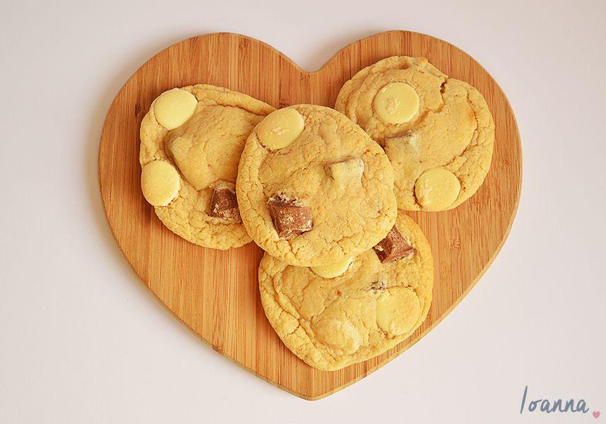 Gooey Double Chocolate Cookies - Hearting