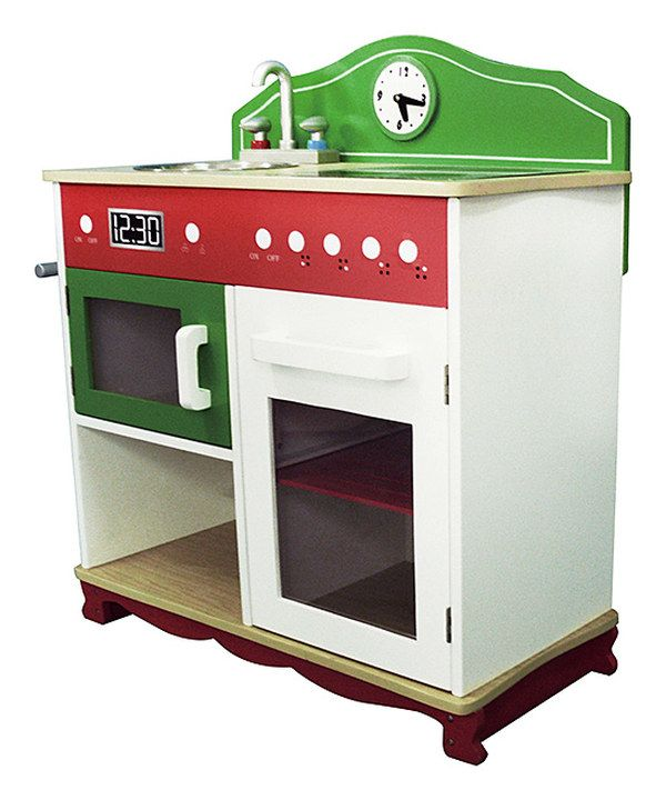 Look at this My Little Chef Electric Stove Top Play Kitchen on #zulily today!