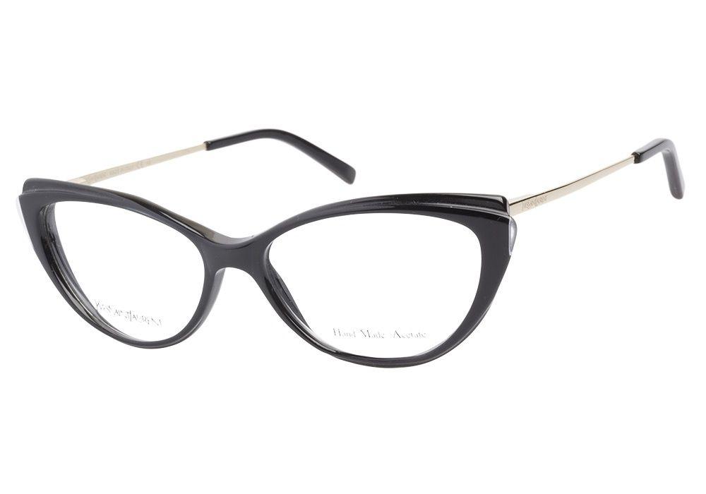 580a4c14d9d Yves Saint Laurent cat eye glasses.
