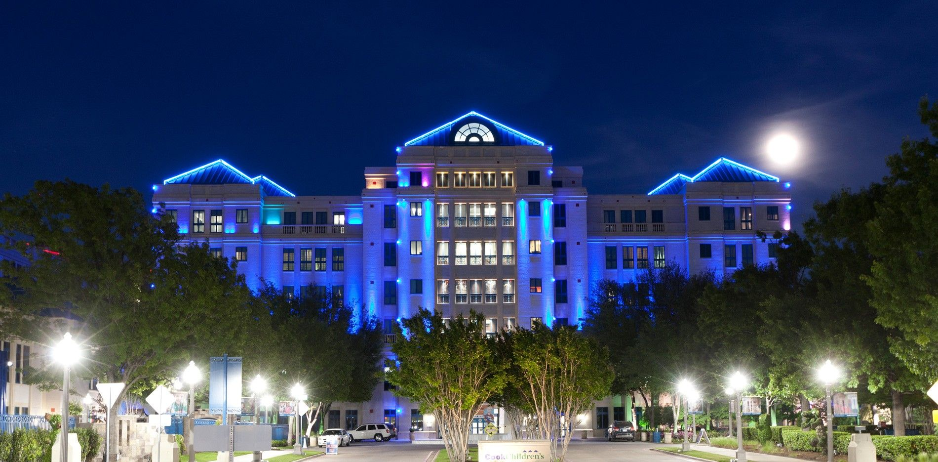 Our complete network of care includes a medical center