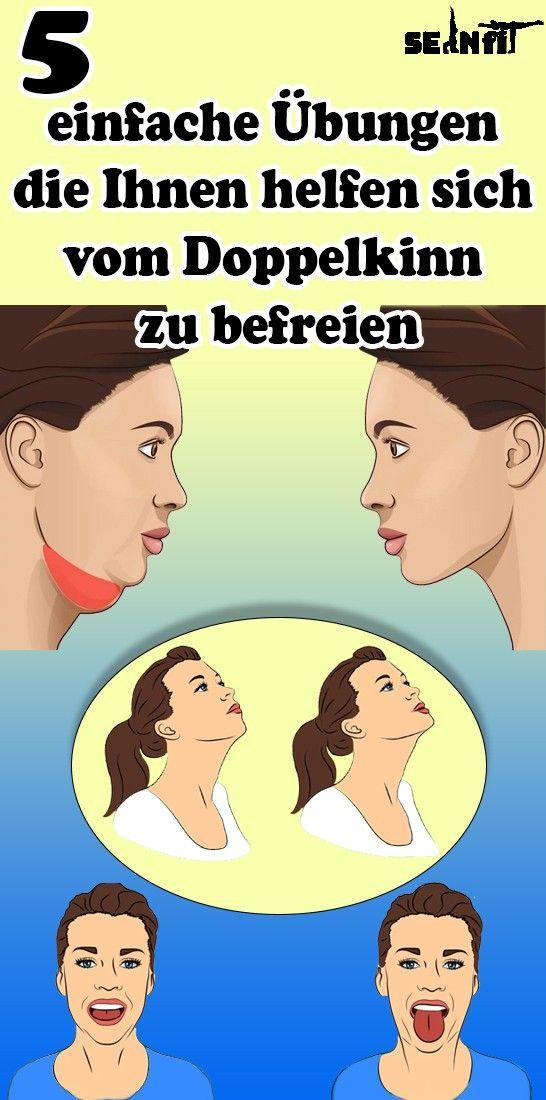 Photo of 5 einfache Übungen, die Ihnen helfen, sich vom Doppelkinn zu befreien