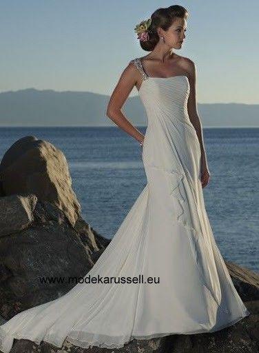 Traum Diana I Linie Brautkleid/Hochzeitskleid | brautkleid | Pinterest