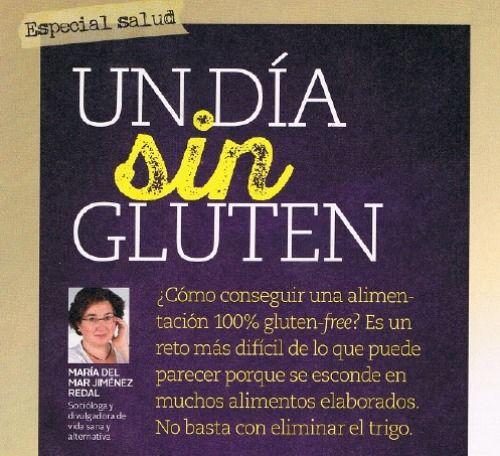 Cocina Alternativa | Menos Gluten Mas Felicidad Mi Articulo En La Revista Mente Sana