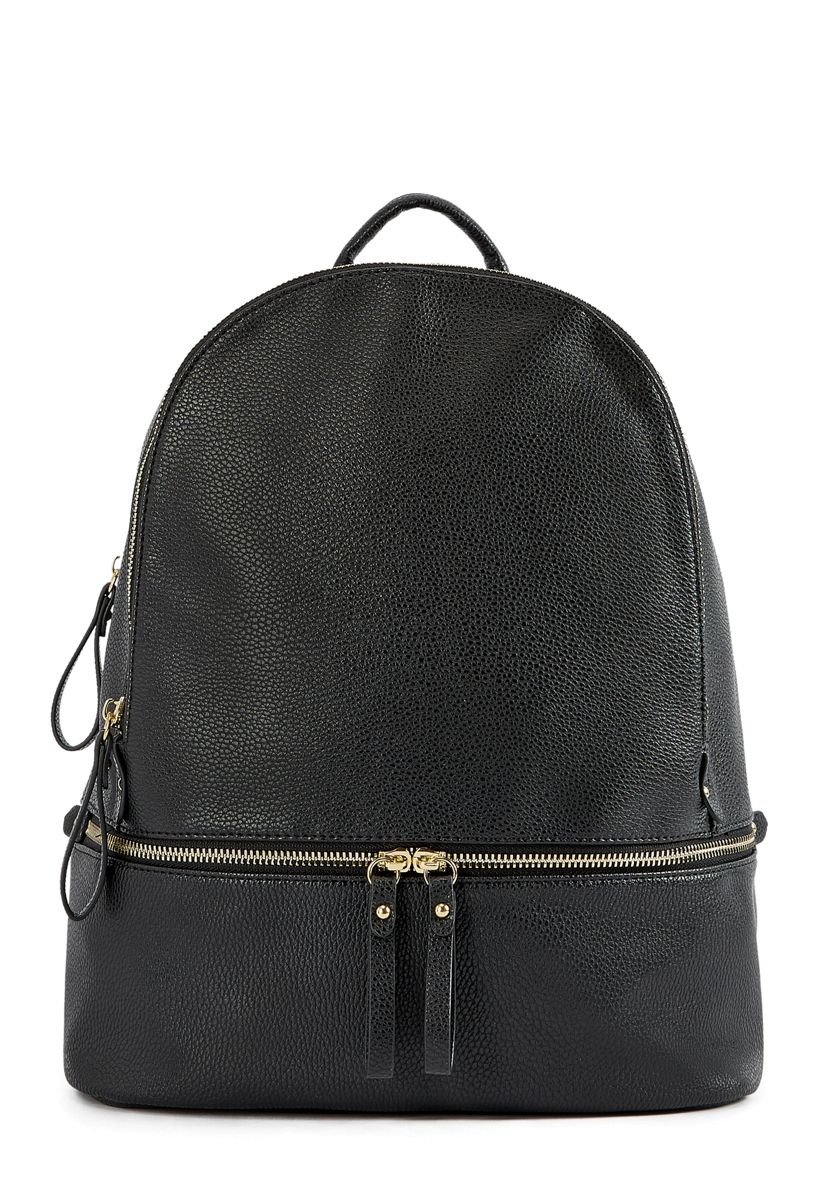 Shoedazzle Bags Chadwick Travel Backpack Womens Black Size OSFM ... dd386d011b