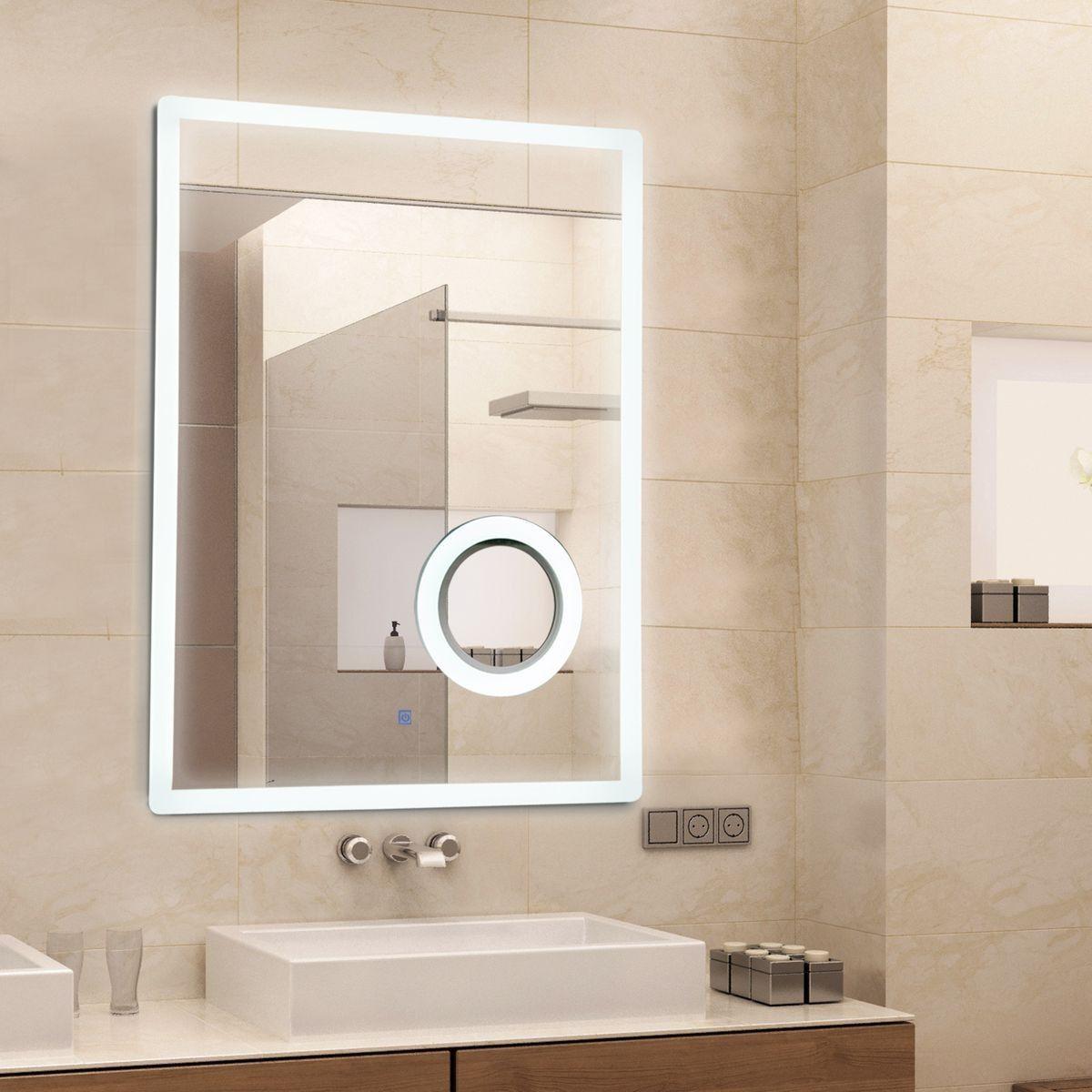 Miroir Lumineux Led Grossissant 16 W Interrupteur Tactile 16l X