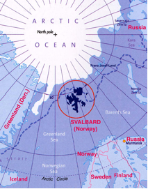 Poster Many Sizes; Cia Map Of Arctic North Pole Region 2008