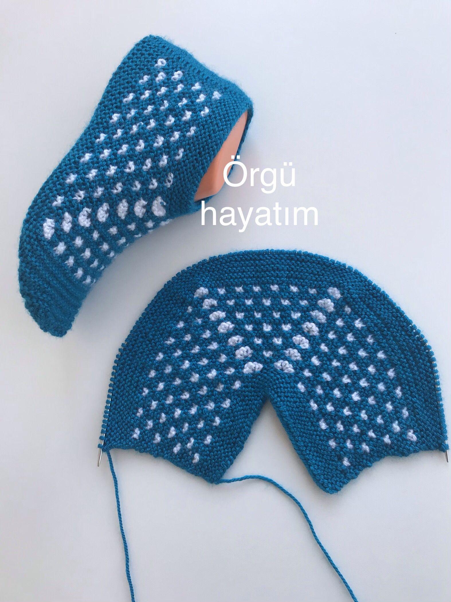 следки спицами видео урок с турецкого сайта вязаные тапочки и