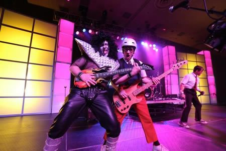 Spazmatics perform at Corporate Conference in California by Encore Live www.encorelive.com