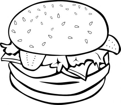 Burger Vector Download 41 Vectors Page 1 With Images Food