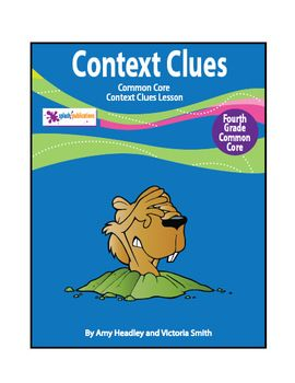 Common core context clues worksheets 4th grade