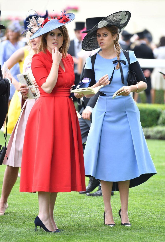 June 22, 2017 Royal Ascot Ladies Day Princess beatrice