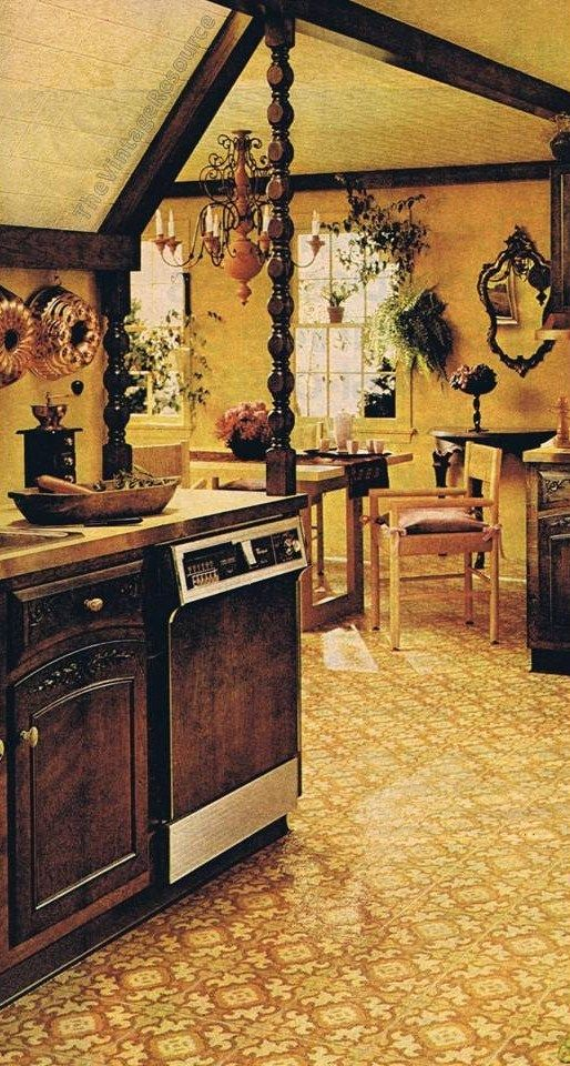 Pin On I Dream Of A 70s Kitchen