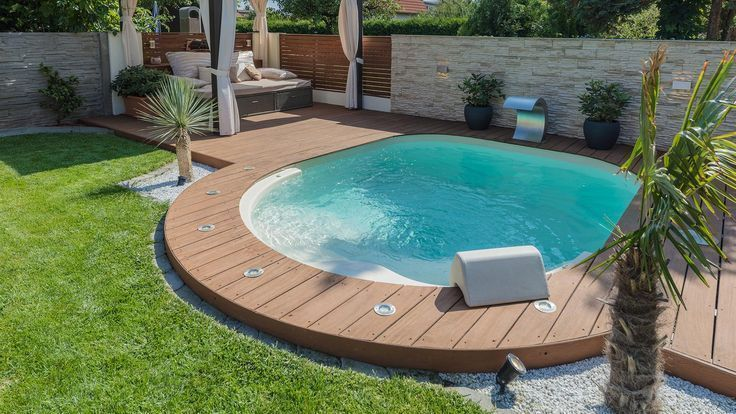 Nice Little Swimming Pool Concepts Green Area Gardening Area
