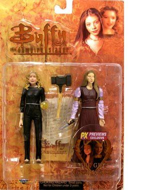 Amazon.com: Buffy the Vampire Slayer > Dawn & Glory (The Gift) Action Figure 2-Pack: Toys & Games