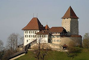 Trachselwald Castle In Switzerland Castillos Paisajes