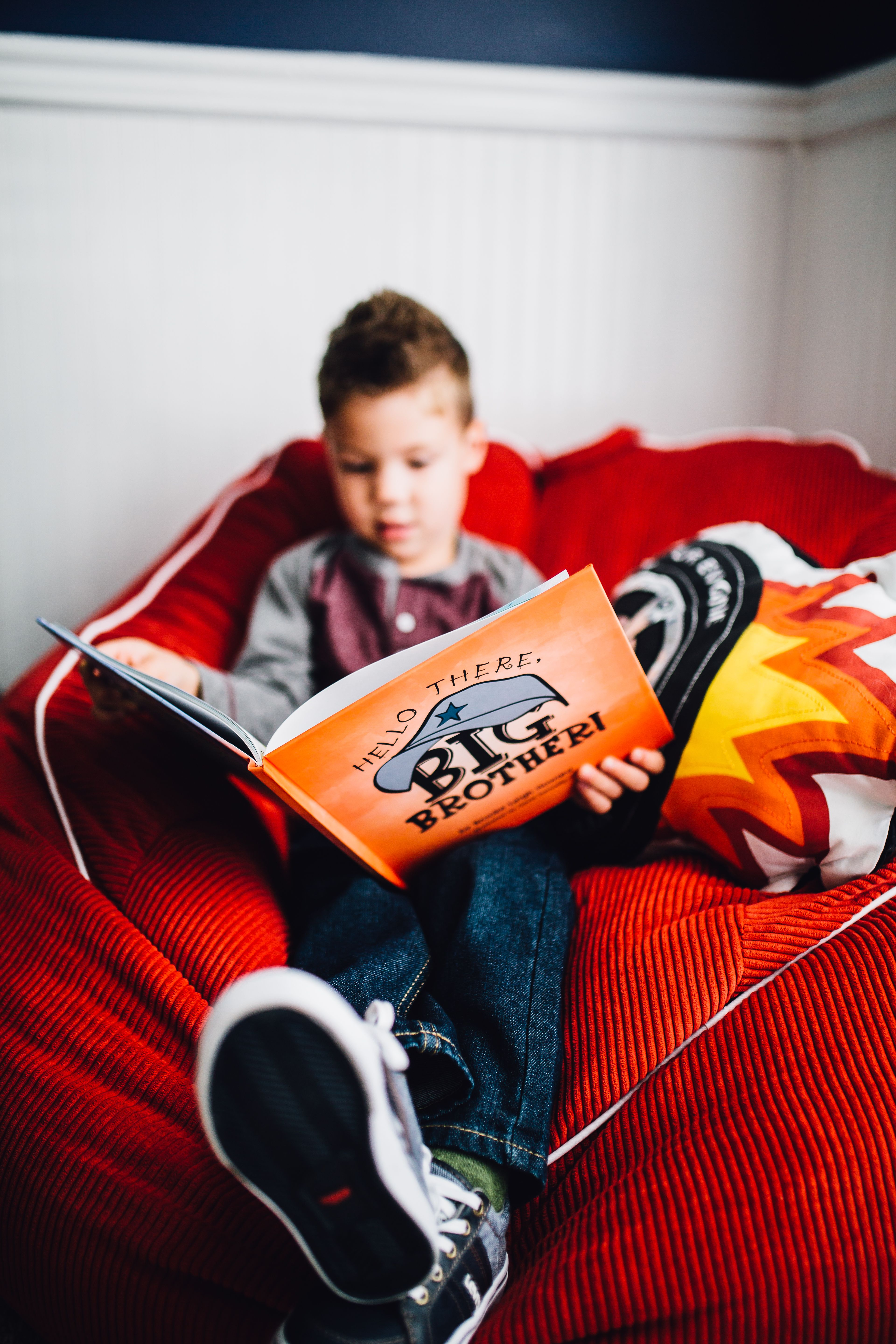 Perfect new big Brother book from baby! | New big brother ...