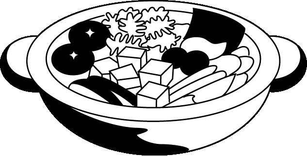 無料イラスト/春夏秋冬: 【2020年の最高】 12月 イラスト 白黒 | イラスト, 白黒, 素材 イラスト