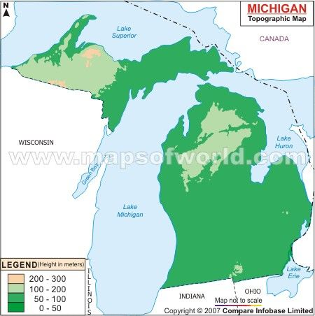 Michigan Topographic Maps Ref Maps Charts Lists Guides