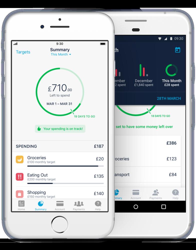 Monzo bank of the future. Make design, Mobile banking
