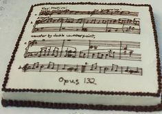classical music cake decorations Google Search music cakes
